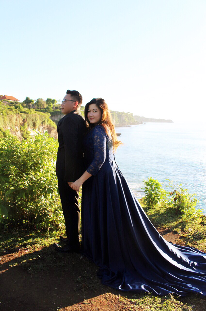PLUS SIZE DRESS FOR PRE WED PHOTOSHOOT (A&I) by TS BRIDAL BALI - 008
