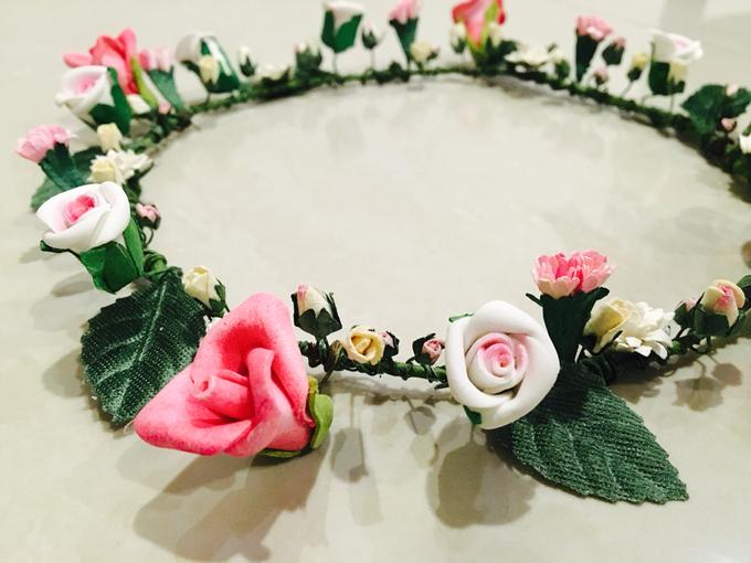 Flower Crown - Import Flowers  by Wedding Needs - 007