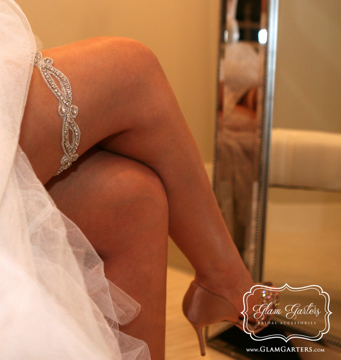 Glam Bridal Garters by Glam Garters Bridal Accessories - 005