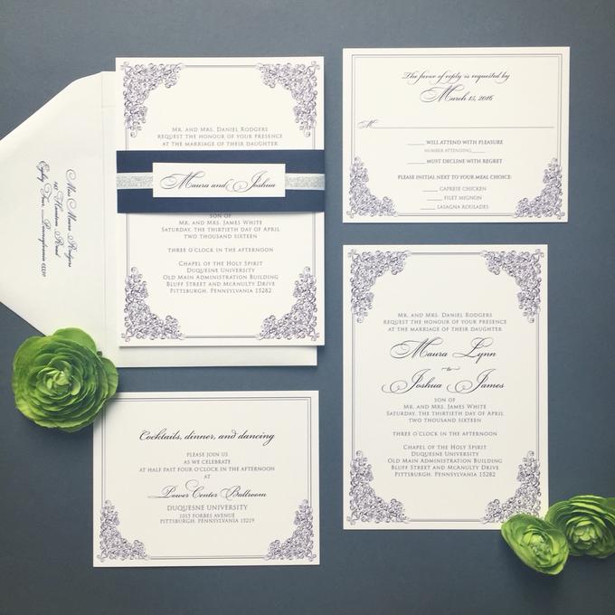 Wedding stationery portfolio  by Hello Beautiful Designs - 001