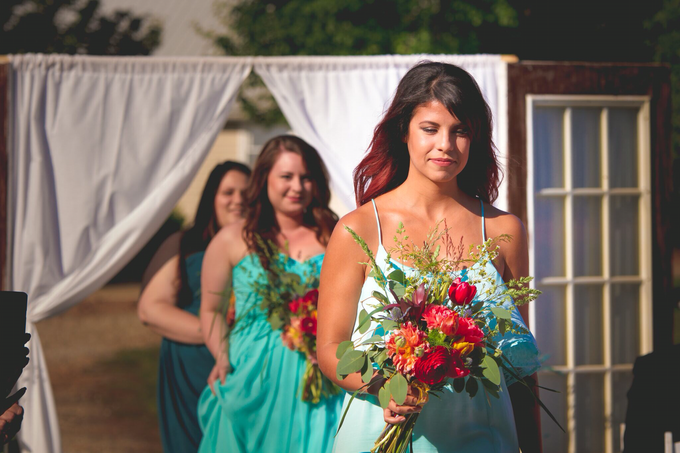 Southern summer wedding  by L&A Event Designs - 026