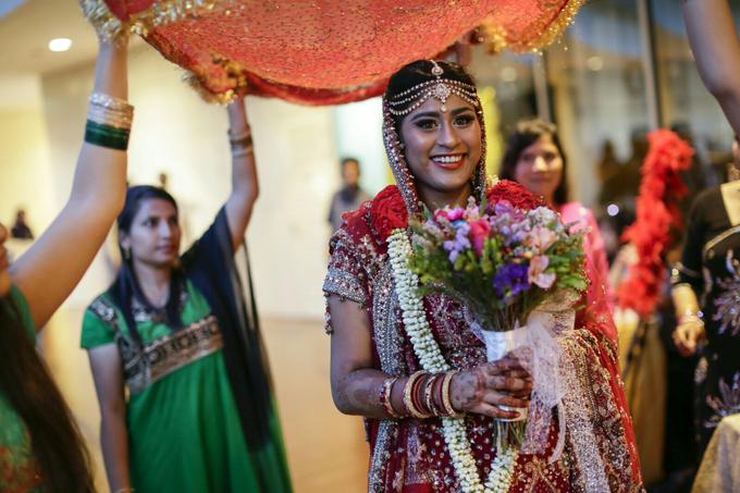 Bee Meera's Wedding by YRegina Makeup - 006