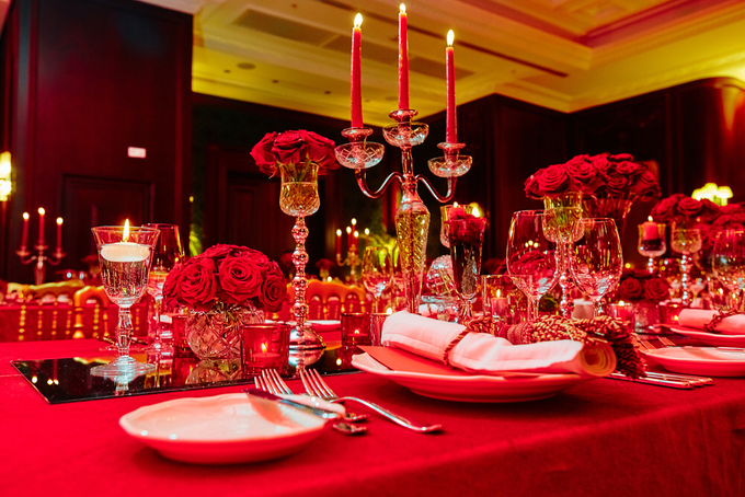 Beautiful Red roses themed wedding by Merit Events - 002