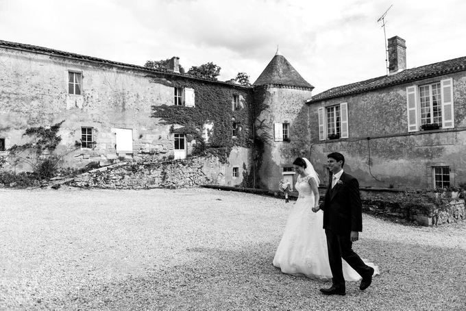 French Wedding Chateau  by Chateau Lagorce / French Wedding Chateau - 011