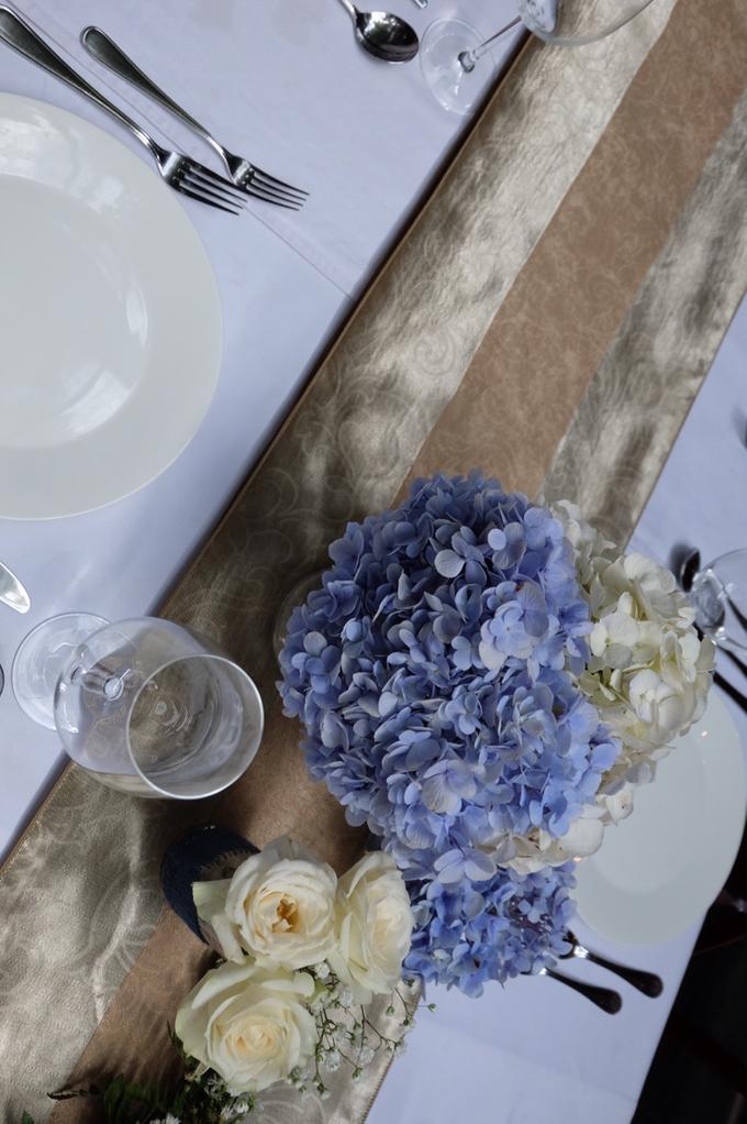 Pantro & Dini's Reception Decor by La Bloom Florist - 006