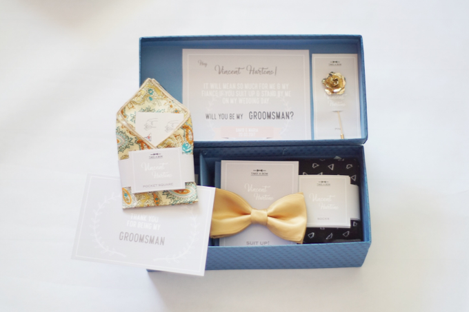 A box of gift / groomsmen's gift by Take A Bow Tie - 001