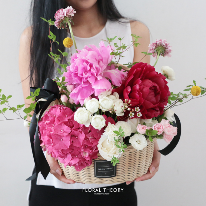 Whimsical garden basket by Floral Theory - 002