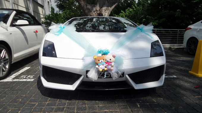 Wedding car decorations  by PERFECT WEDDING CAR SG - 008