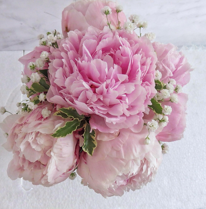 The blush of peonies  by Royal Petals - 007