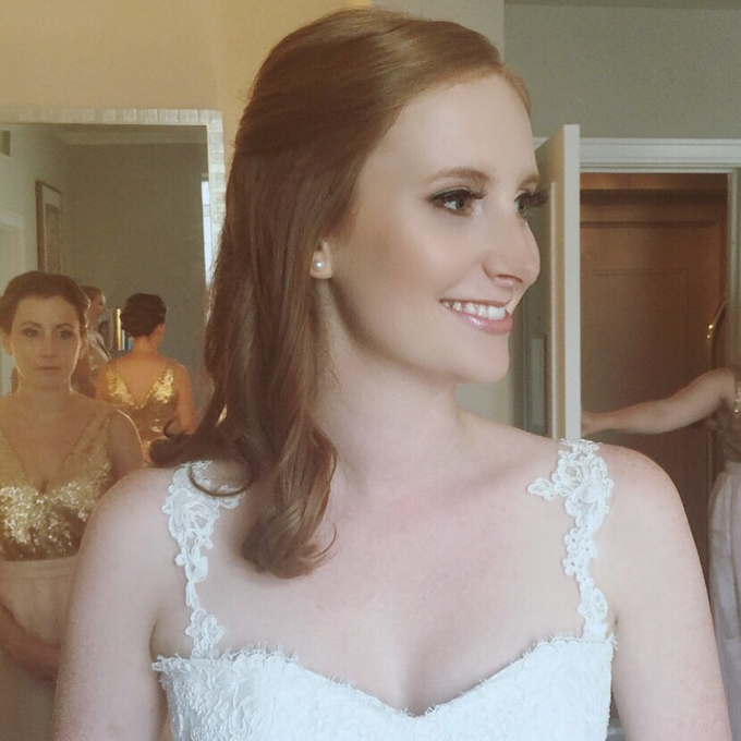 Bridal makeup  by Mobile Makeovers - 005