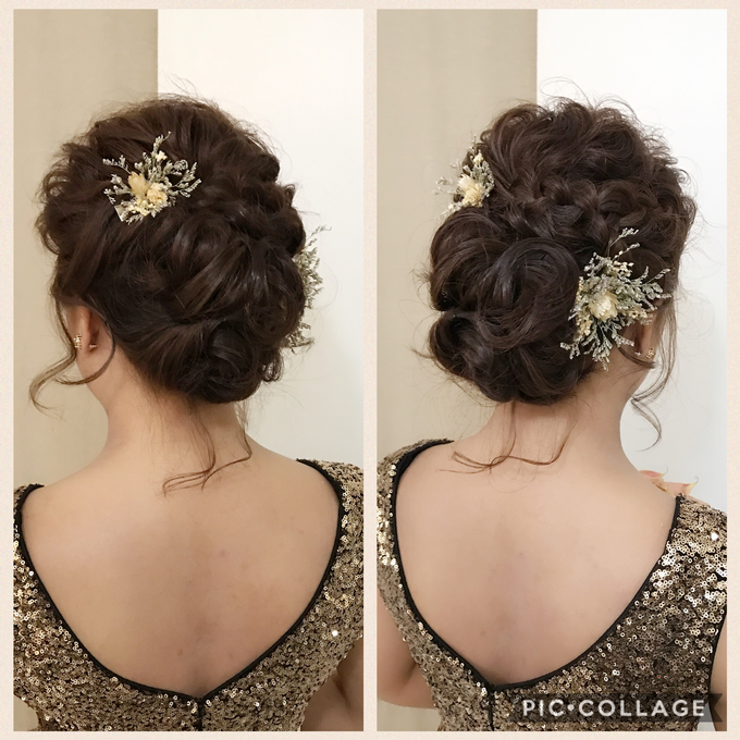 Bridal Hairstyles  by Zinny Theint Make-up Artistry - 002