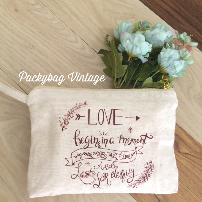 Anniversary wedding Favor  by Packy Bag Vintage - 002