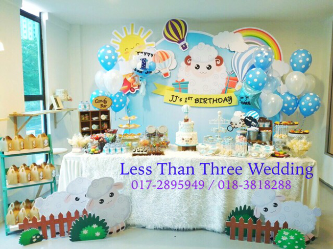 Birthday Decoration by Less Than Three Wedding - 001