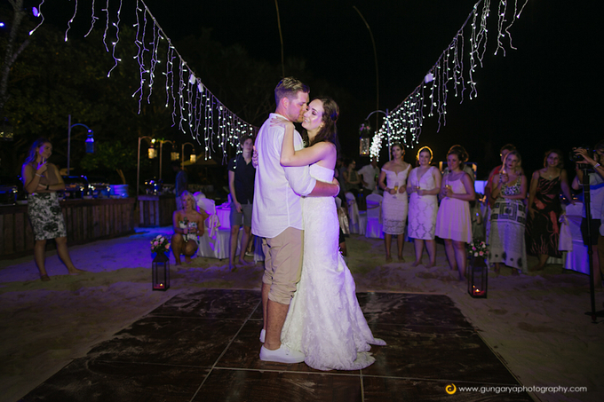 Amanda & Nicholas Wedding by Courtyard by Marriott Bali Nusa Dua - 046