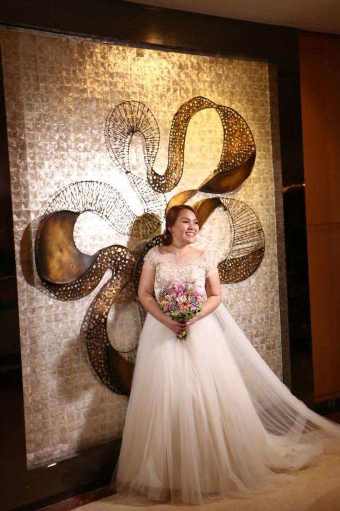 PLUS SIZE WEDDING DRESS by TS BRIDAL BALI - 014