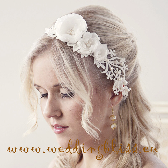 Bridal hair accessories, collection of 2016 by Weddingbliss - 008