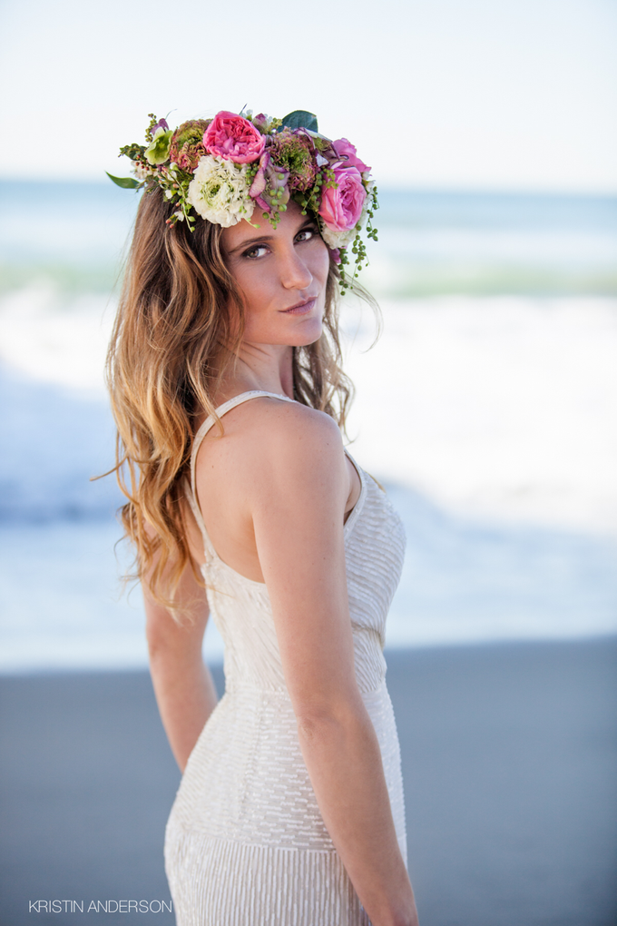 Jeaneane at the beach by Kristin Anderson Photography - 020