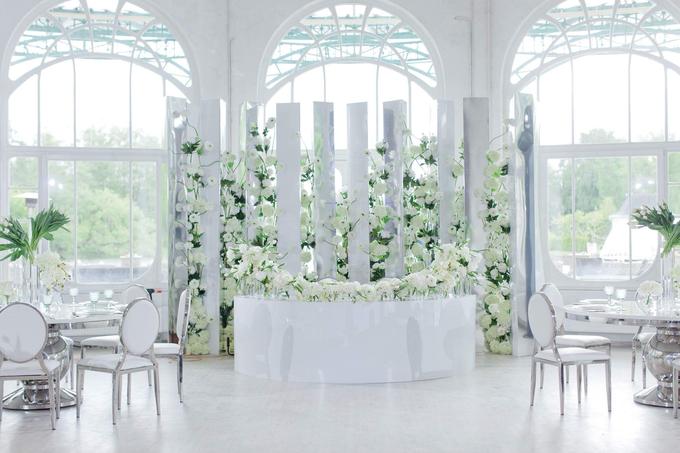 Minimalist wedding in June by Maria German decor - 013