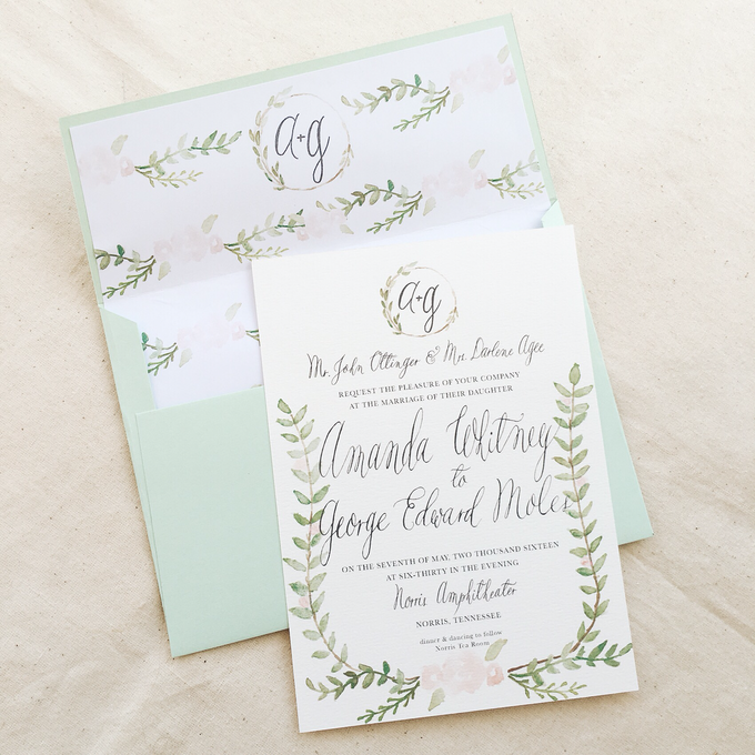 Botanical Suite by Meilifluous Calligraphy & Design - 005