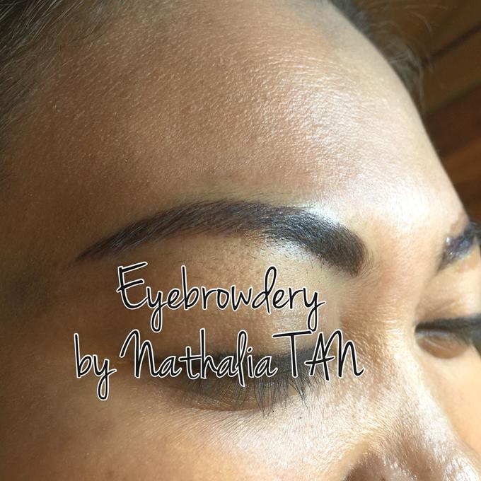 Eyebrow Embroidery  by Nathalia TAN Makeup Artist - 004