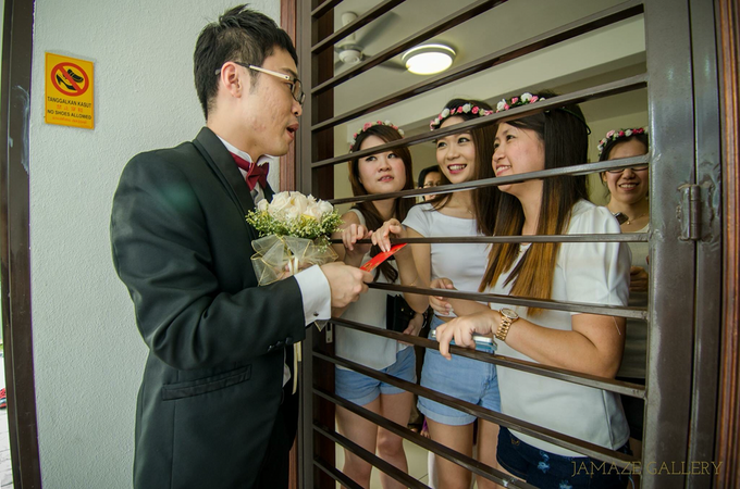 Kah Pei & Sook Kwan Wedding Ceremony by Jamaze Gallery - 014
