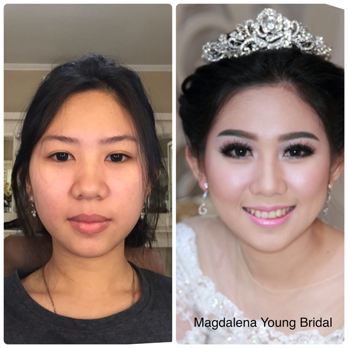Selvie dan Wilson, trial wedding makeup by Magdalena Young Bridal - 001