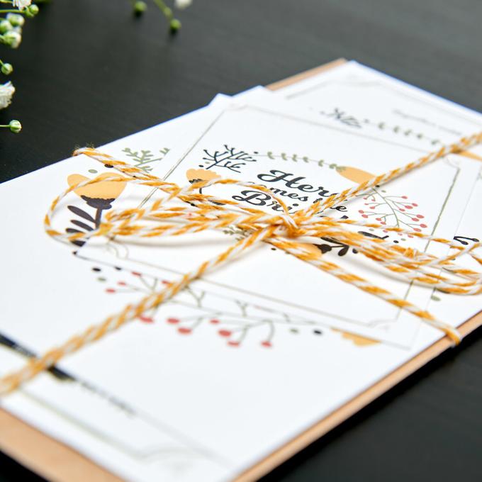 Bespoke designs by Vicky Perry Wedding Stationery - 004