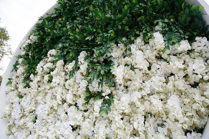 White and green wedding K&K by Maria German decor - 010