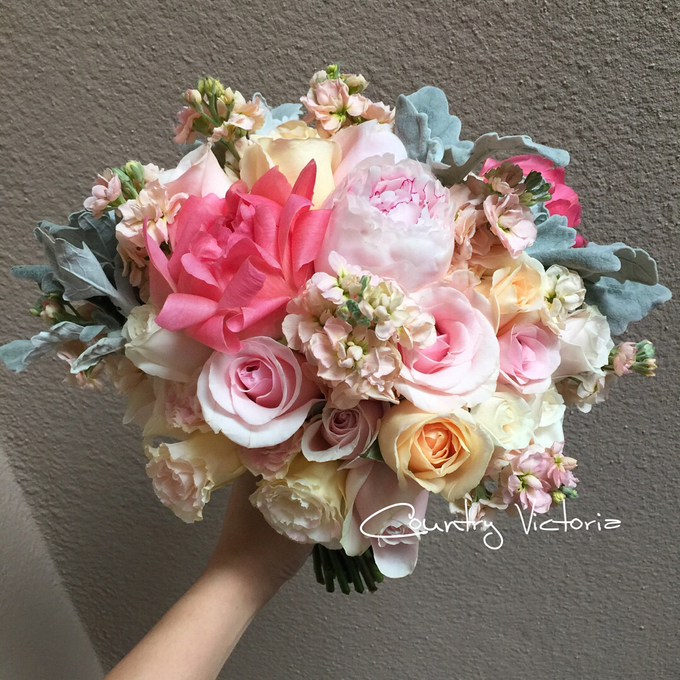 Bridal Bouquets by Country Victoria - 006