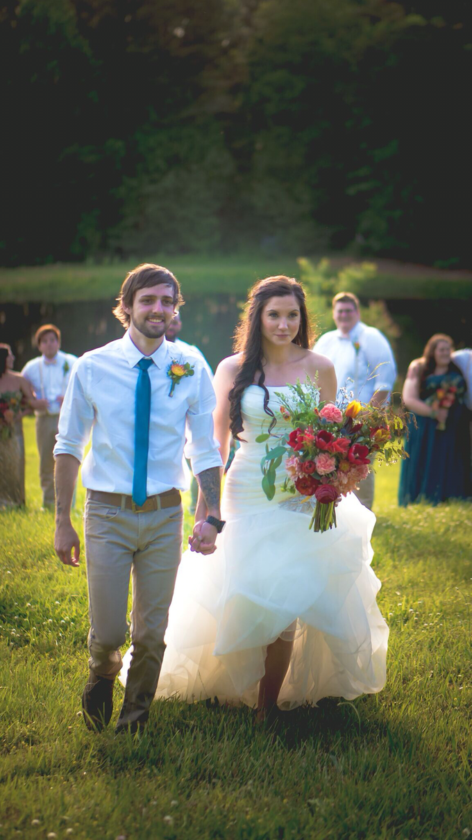 Southern summer wedding  by L&A Event Designs - 030