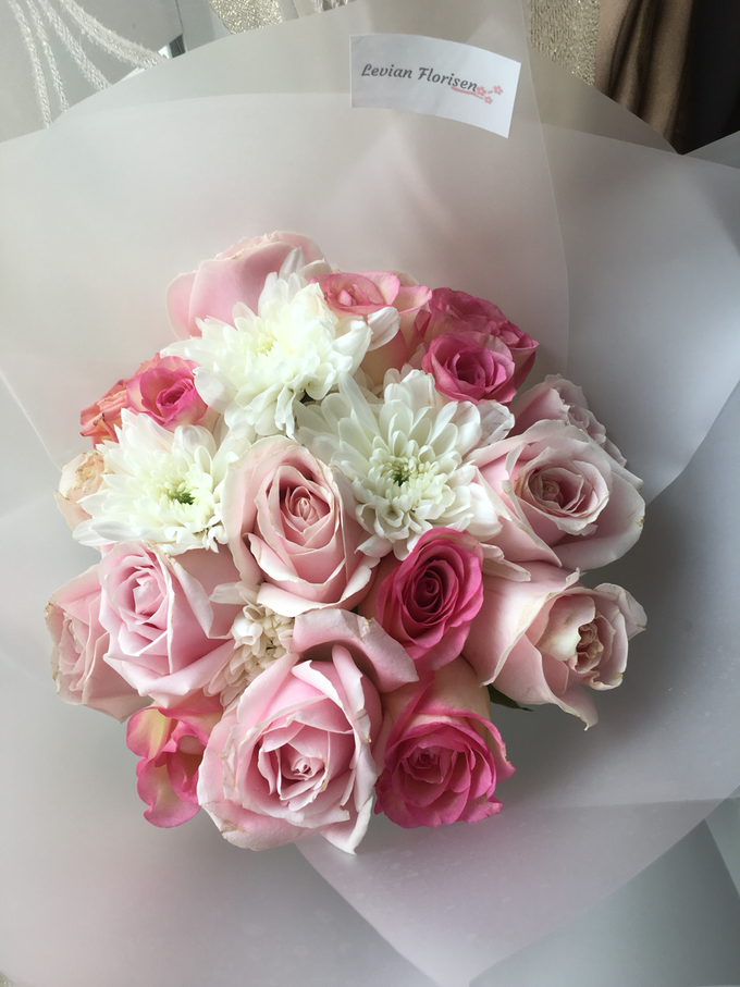 Pink Velvet Bouquet  by Levian Florisen - 006