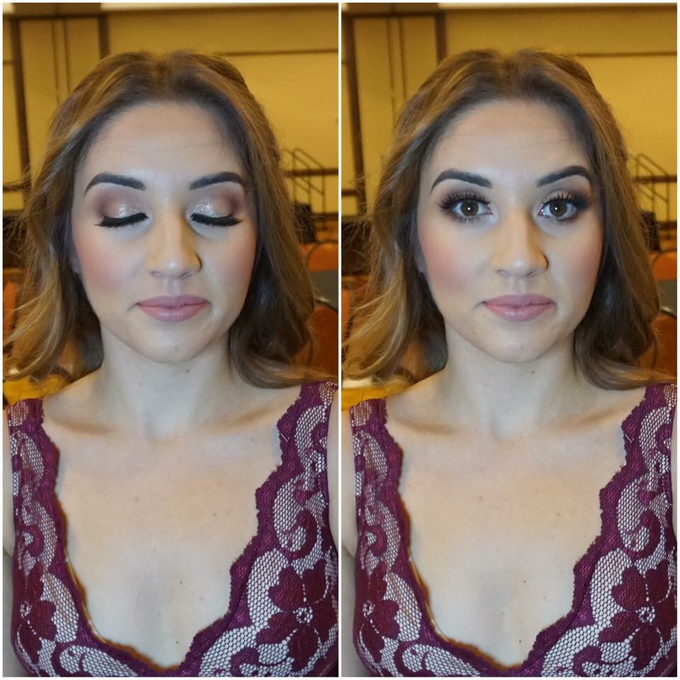 Bridal makeup and hair  by Lilianbeauty - 029