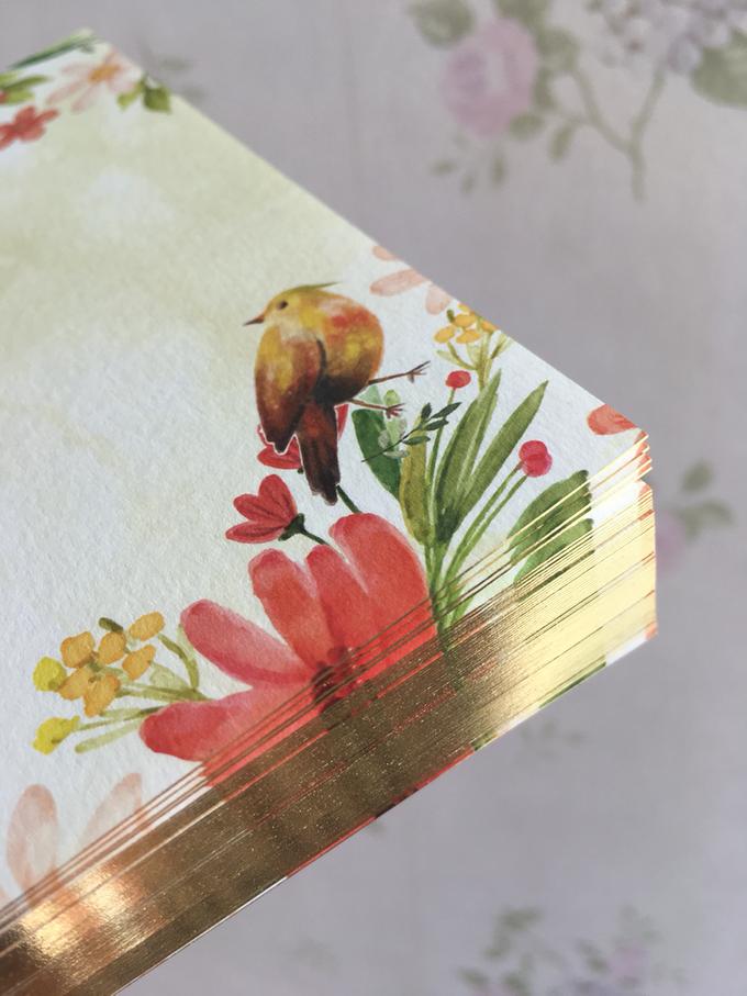 Edge Foil Technique  by H2 Cards - 002