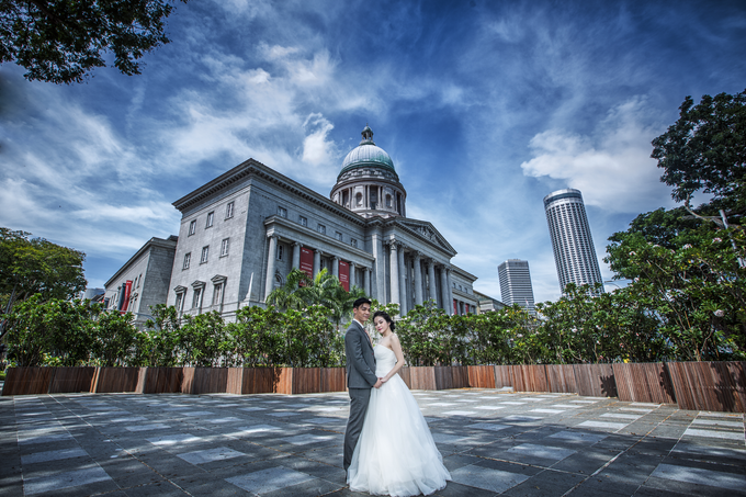 Gin Gin pre wedding shoot  by Cocoon makeup and hair - 006