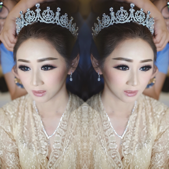 Wedding makeup for Irene (palu) by Imel Vilentcia Make Up Artist - 002