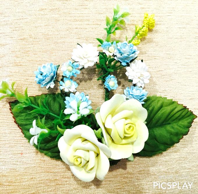 Handmade Flower Corsage by Wedding Needs - 003