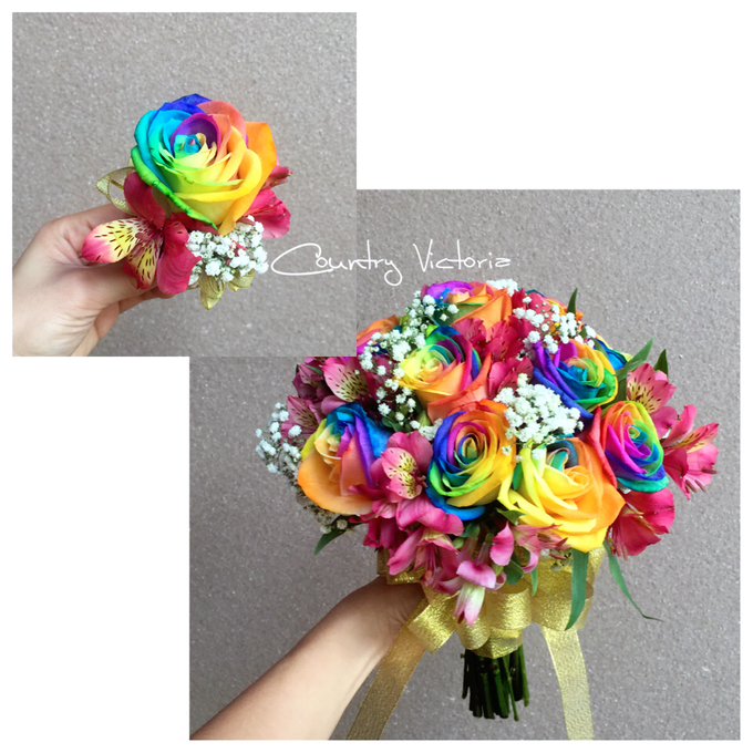 Bridal Bouquets by Country Victoria - 022