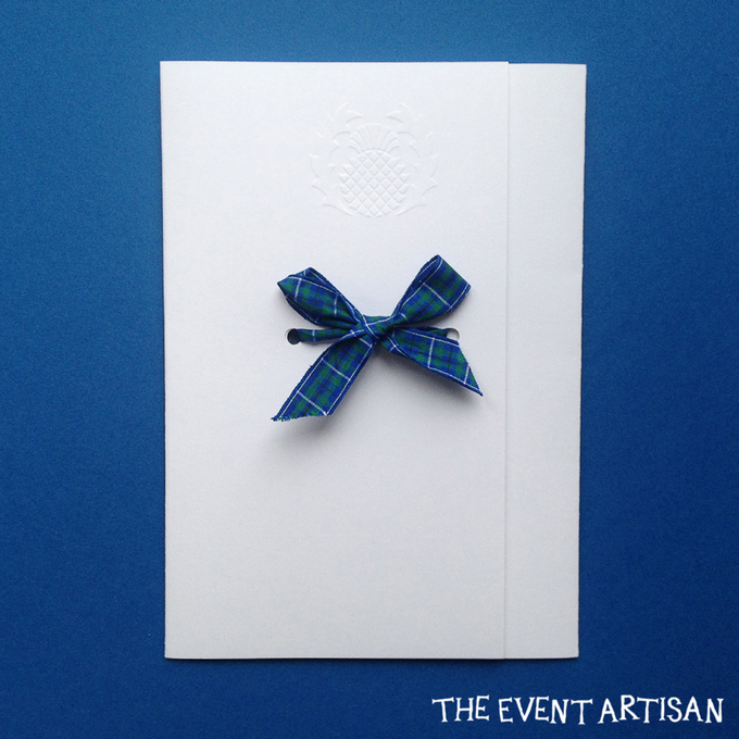 Customised Laser cut Wedding invitation by The Event Artisan - 004