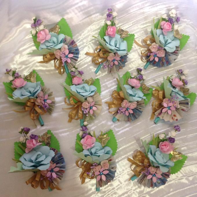 Pastel Handcrafted Entourage Bouquets by Duane's Fleur Creatif - 022