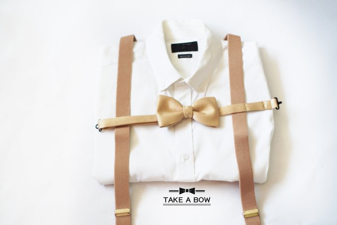 [NEW] TIE SET WITH SUSPENDERS by Take A Bow Tie - 004