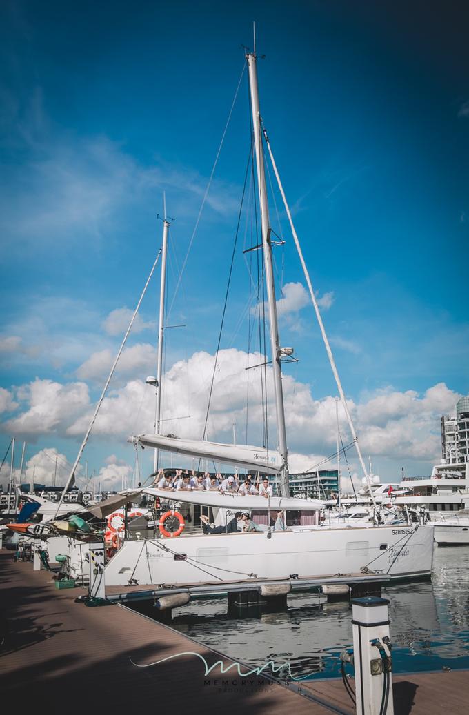 Yacht Pre Wedding by memorymusk - 013