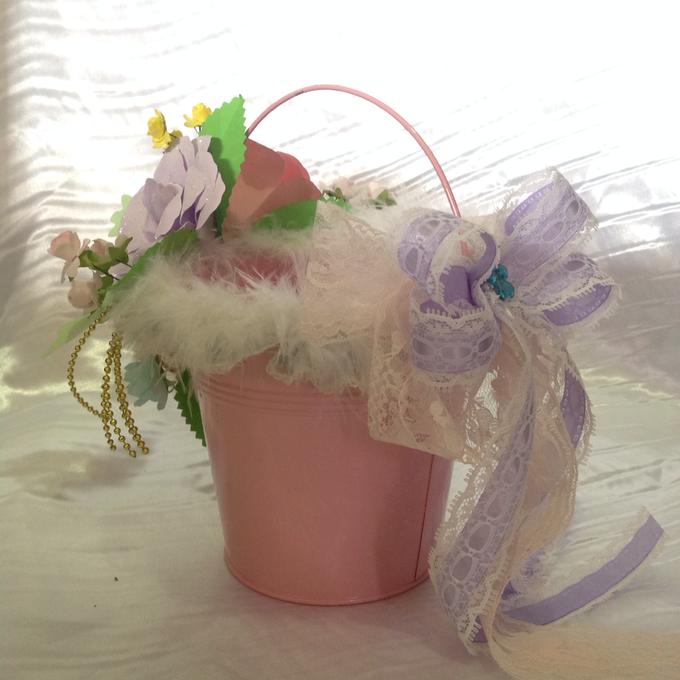 Pastel Handcrafted Entourage Bouquets by Duane's Fleur Creatif - 019