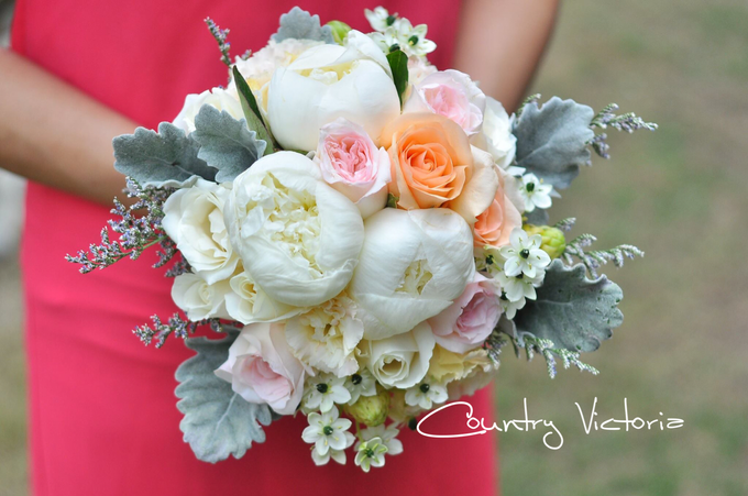 Bridal Bouquets by Country Victoria - 008