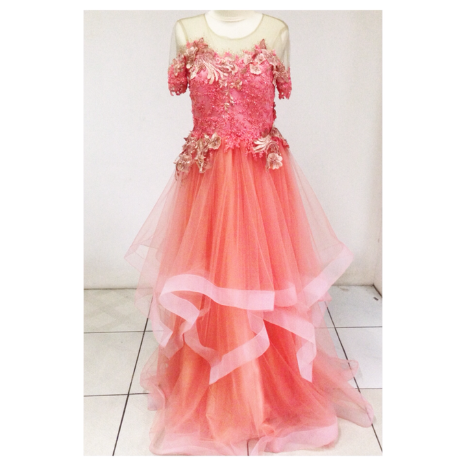 Engagement and party dress by By Laurentialili - 010
