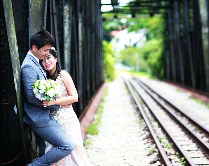 Fendi & Shella Pre- Wedding Shoot by YRegina Makeup - 001