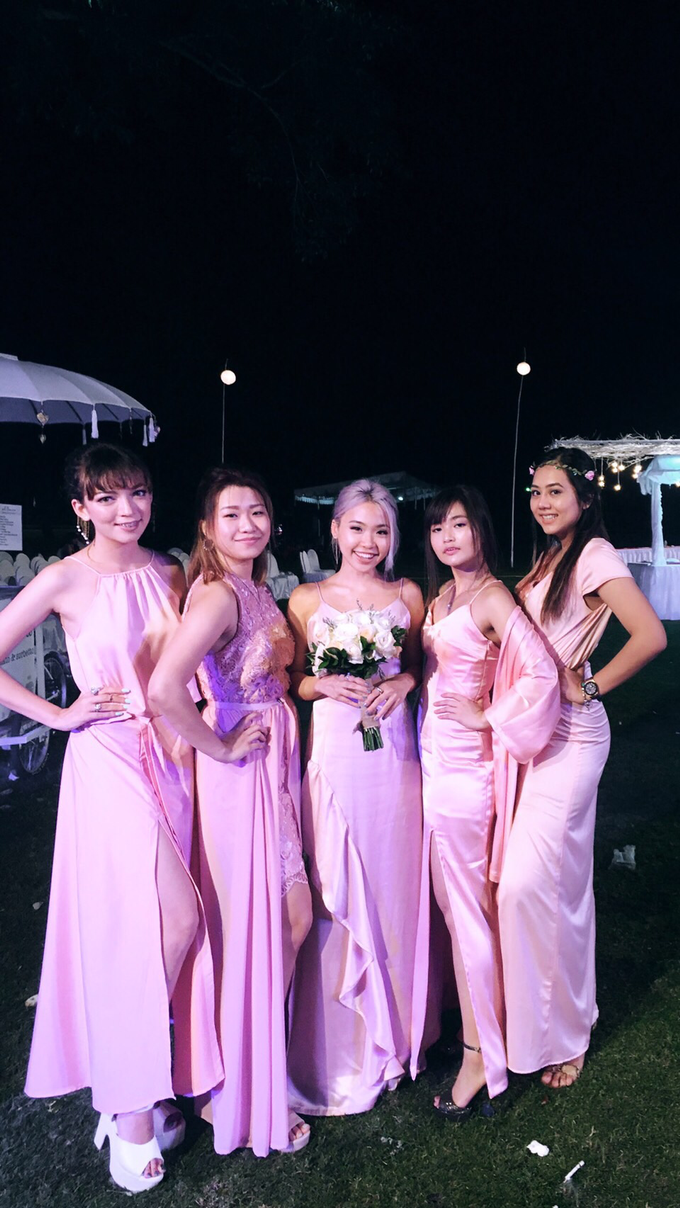 Bridesmaids dresses by Vicuna - 002