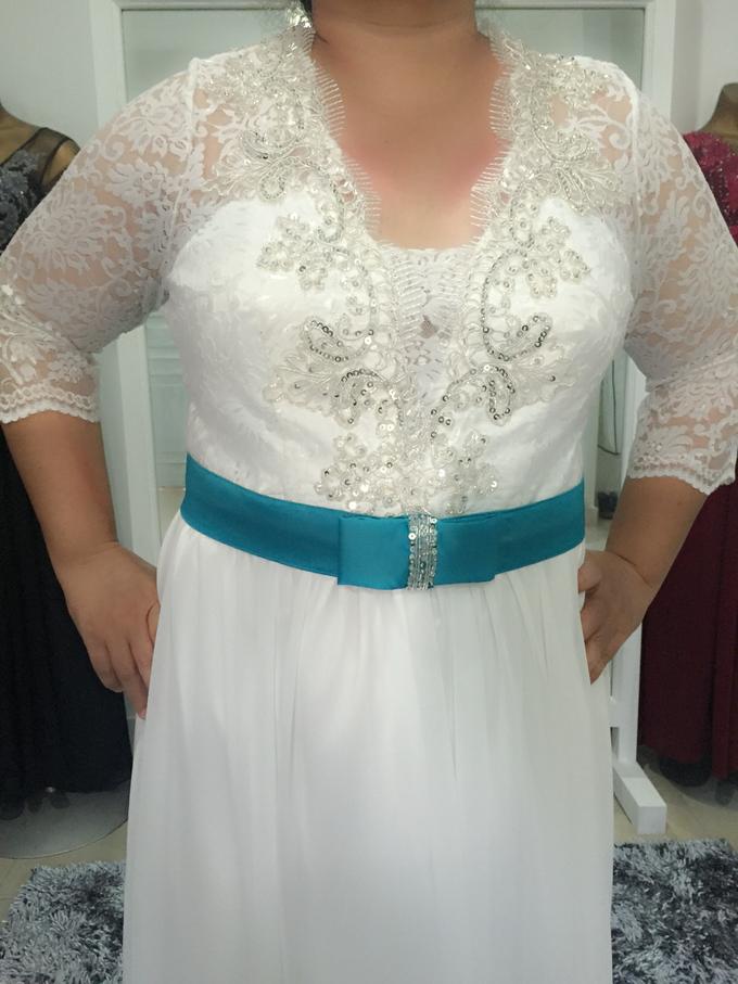 SIMPLE WEDDING DRESS TAIL BISA DI LEPAS by TS BRIDAL BALI - 011