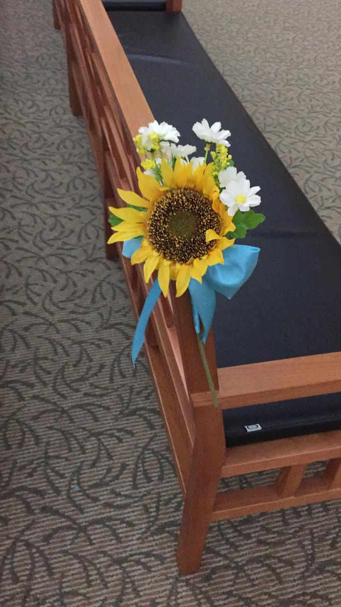 Sunflowers wedding by ilmare Wedding - 021