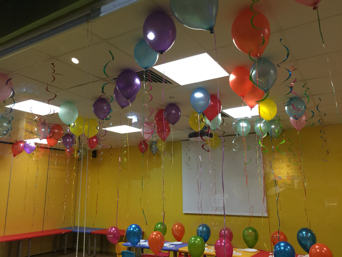 Rainbow balloons by ilmare Wedding - 002