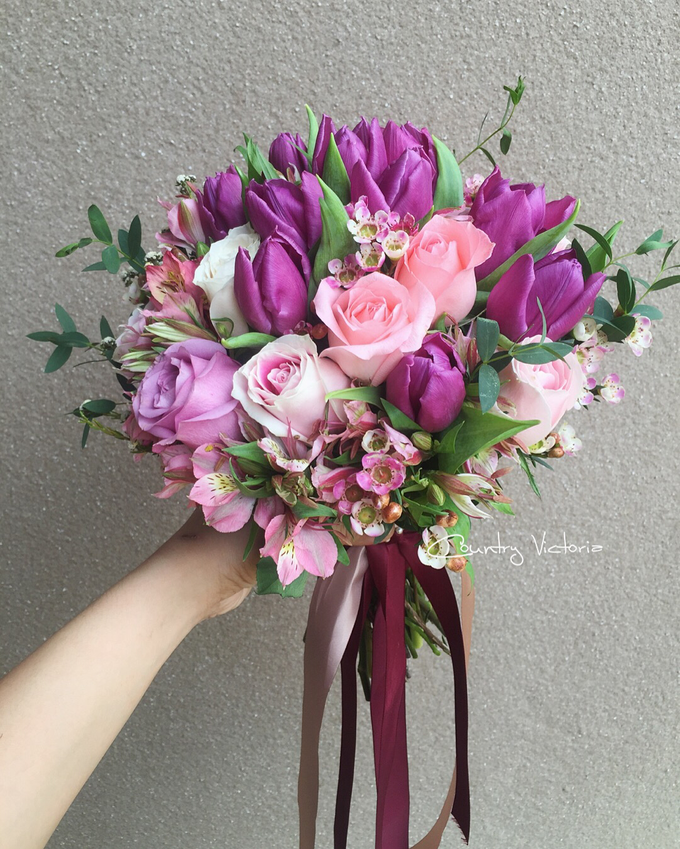 Bridal Bouquets by Country Victoria - 003
